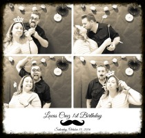Birthday Photo Booth Picture Sample